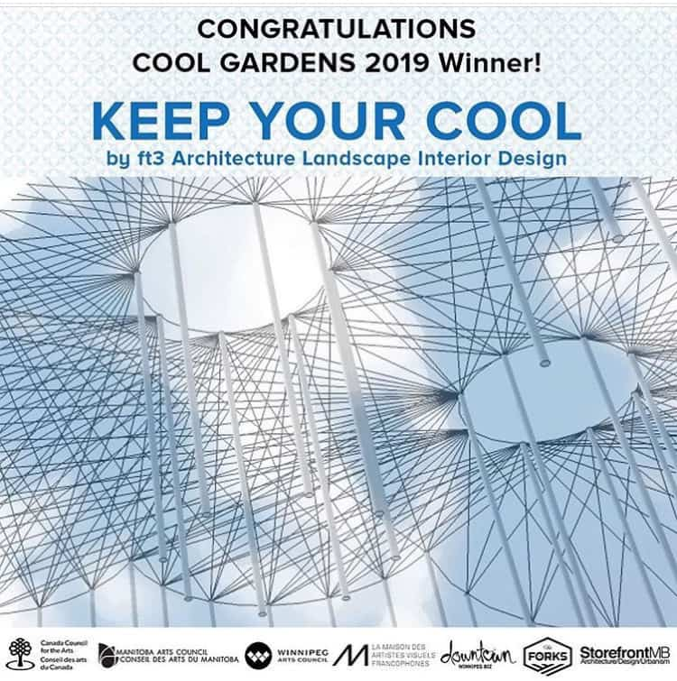 Keep Your Cool by ft3 - Cool Gardens Design Competition - Storefront Manitoba The Forks - Winnipeg, Canada