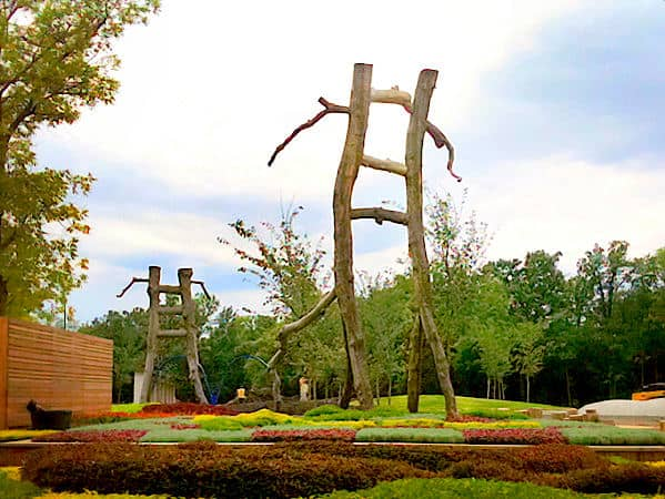 Nature Playground - Assiniboine Park, Winnipeg, Canada