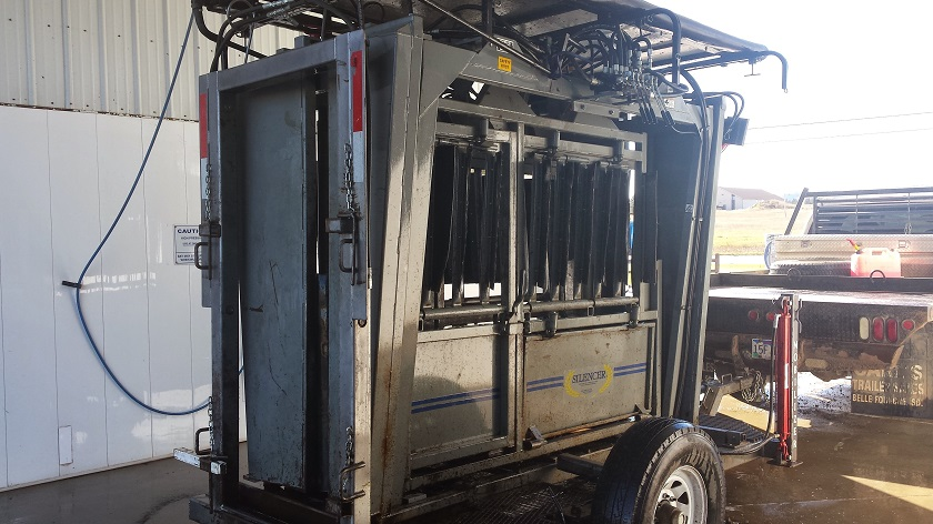 Mobilizer Trailer and SILENCER Chute at the Carwash