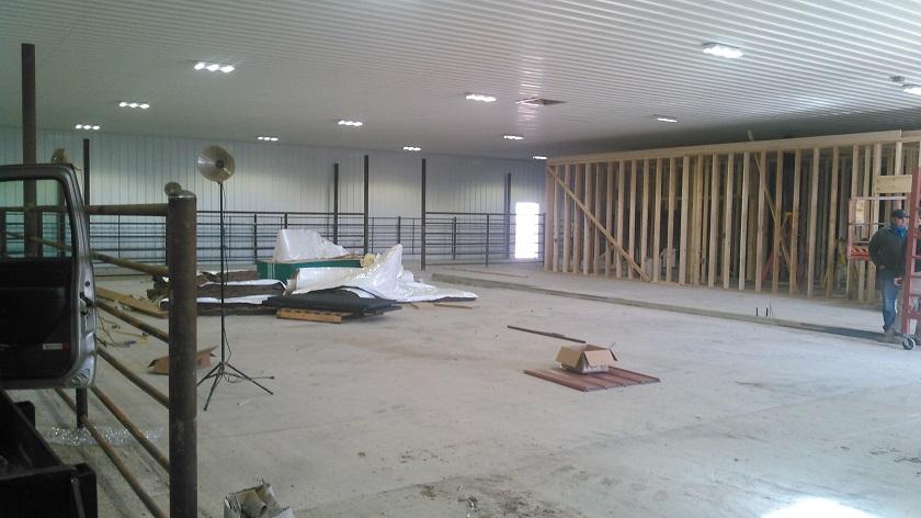 Indoor working facility.