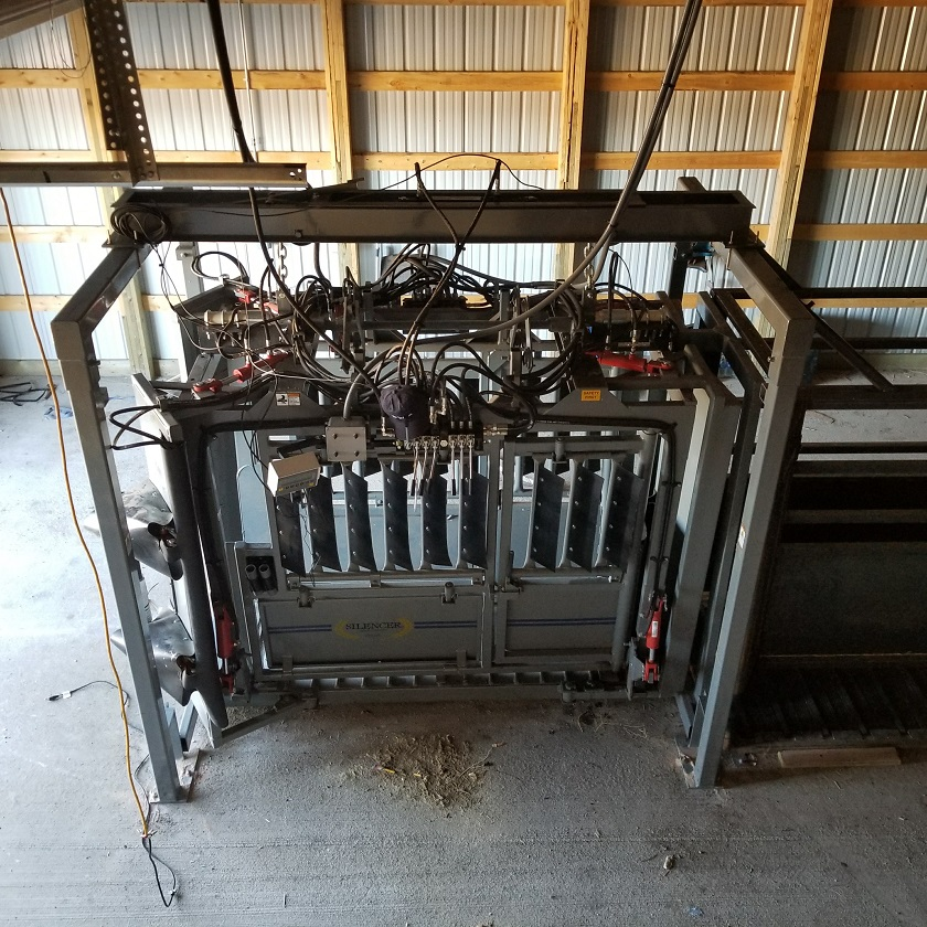 Overhead Scale System for SILENCER Chute