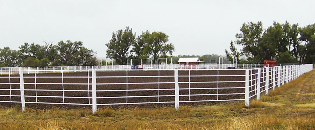 Linn Post and Pipe Continuous Fence