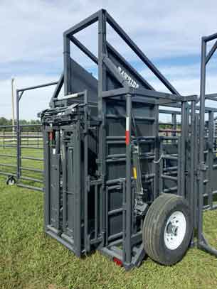 Head Gate Option for Portable Corral