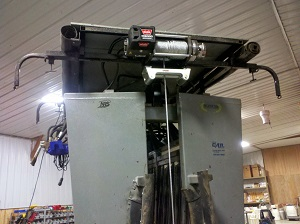 SILENCER Hydraulic Chute with Electric Winch