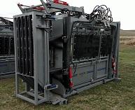 Crash Cage on SILENCER Hydraulic Chute