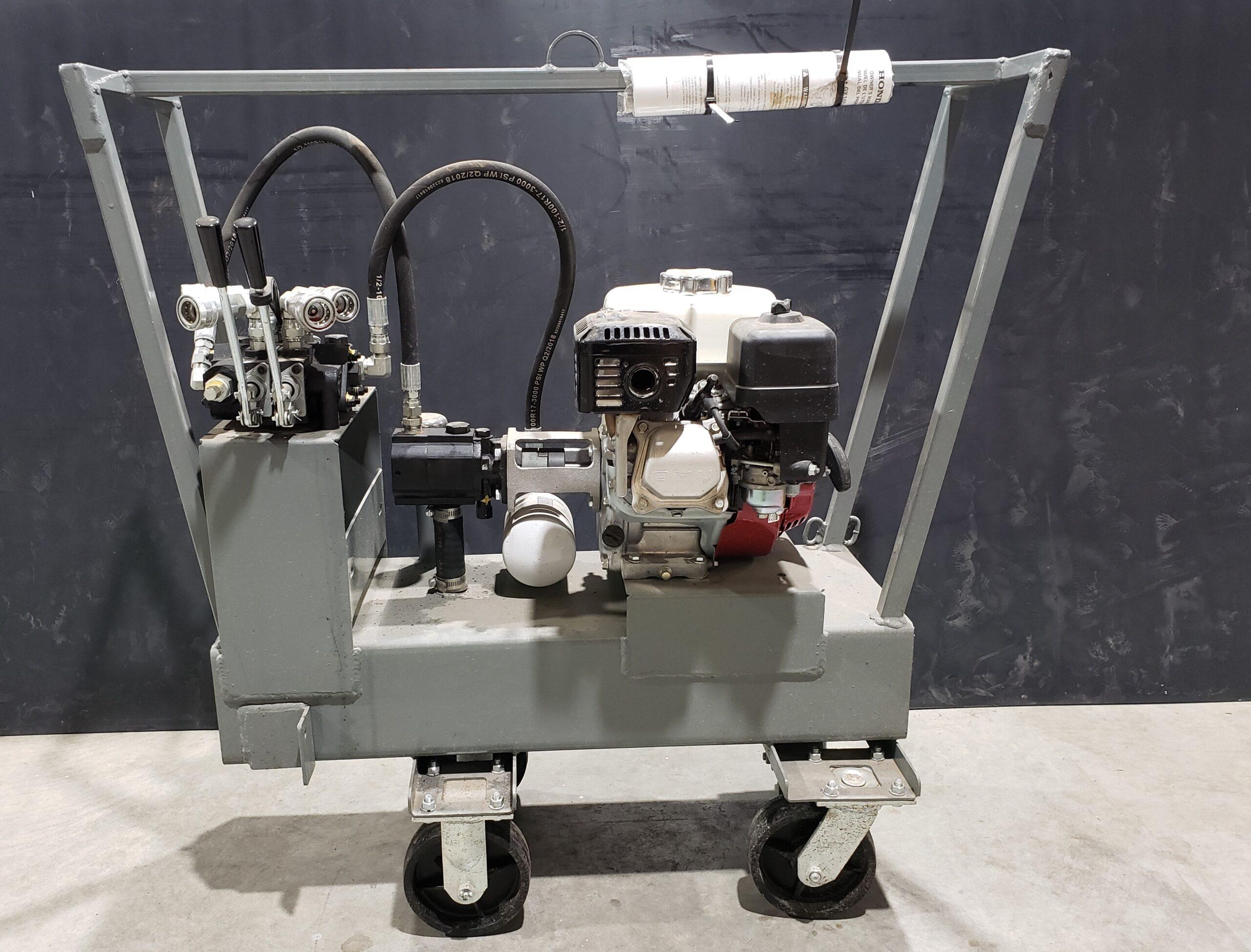 5.5HP Gas Power Unit