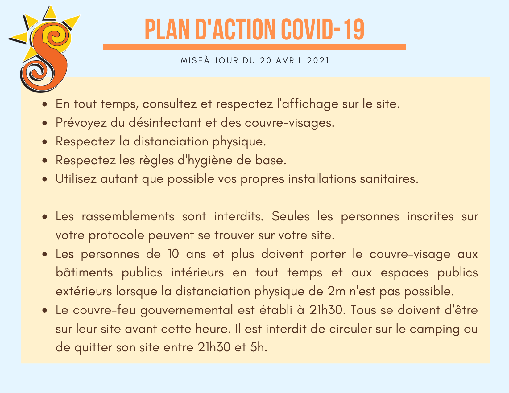 Plan d'action 2021 COVID19