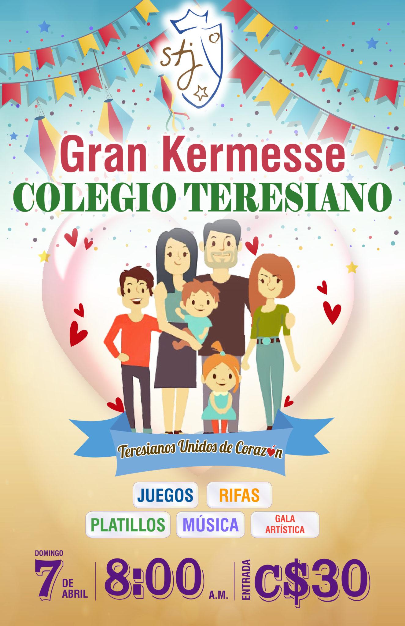 KERMESSE TERESIANA – TERESIANOS DE CORAZÓN * GREAT TERESIAN KERMESSE 2019!