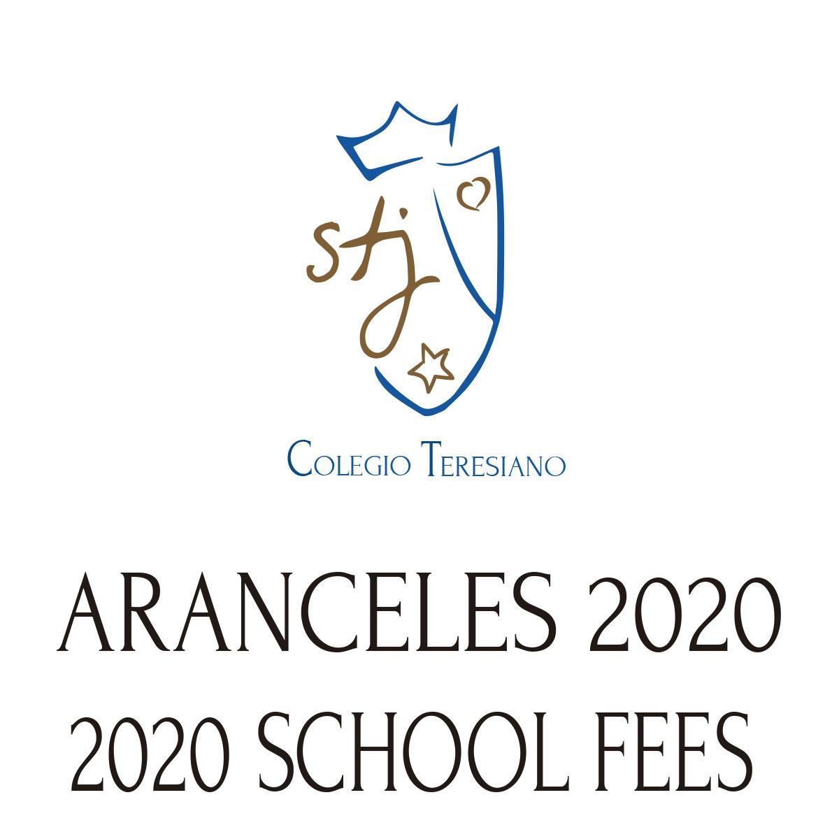 ARANCELES 2020 – NUEVO INGRESO