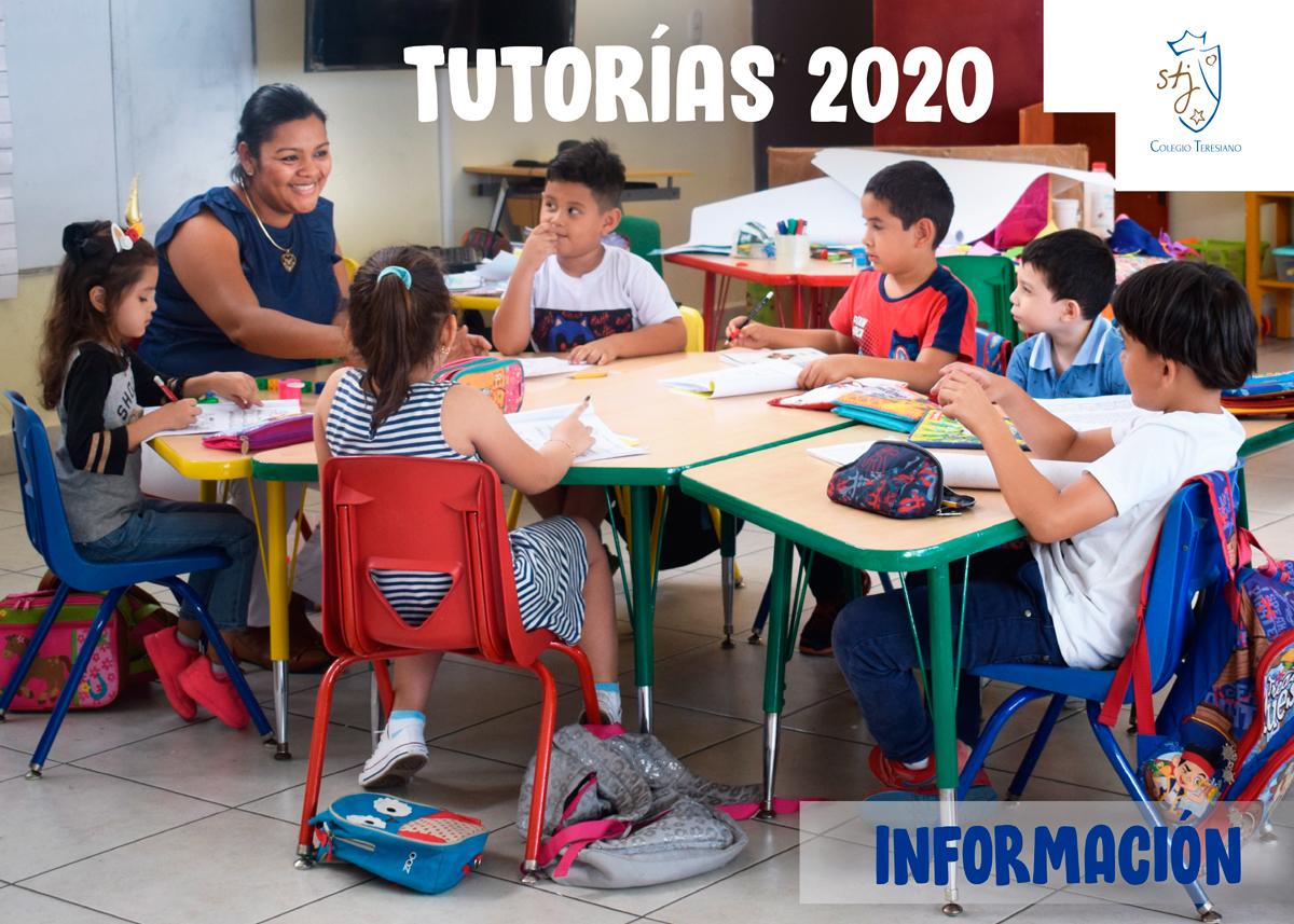 TUTORÍAS 2020 – INDUCCIÓN Y REFORZAMIENTO