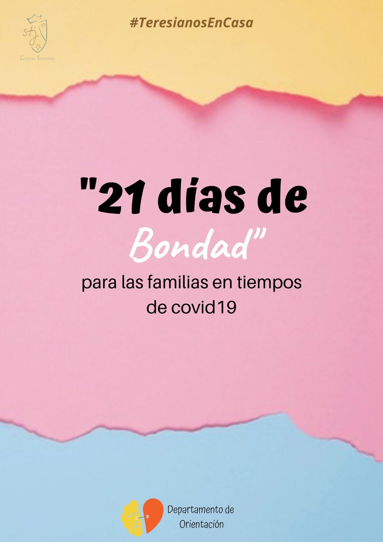 21 días de bondad para las  familias en tiempos de covid19