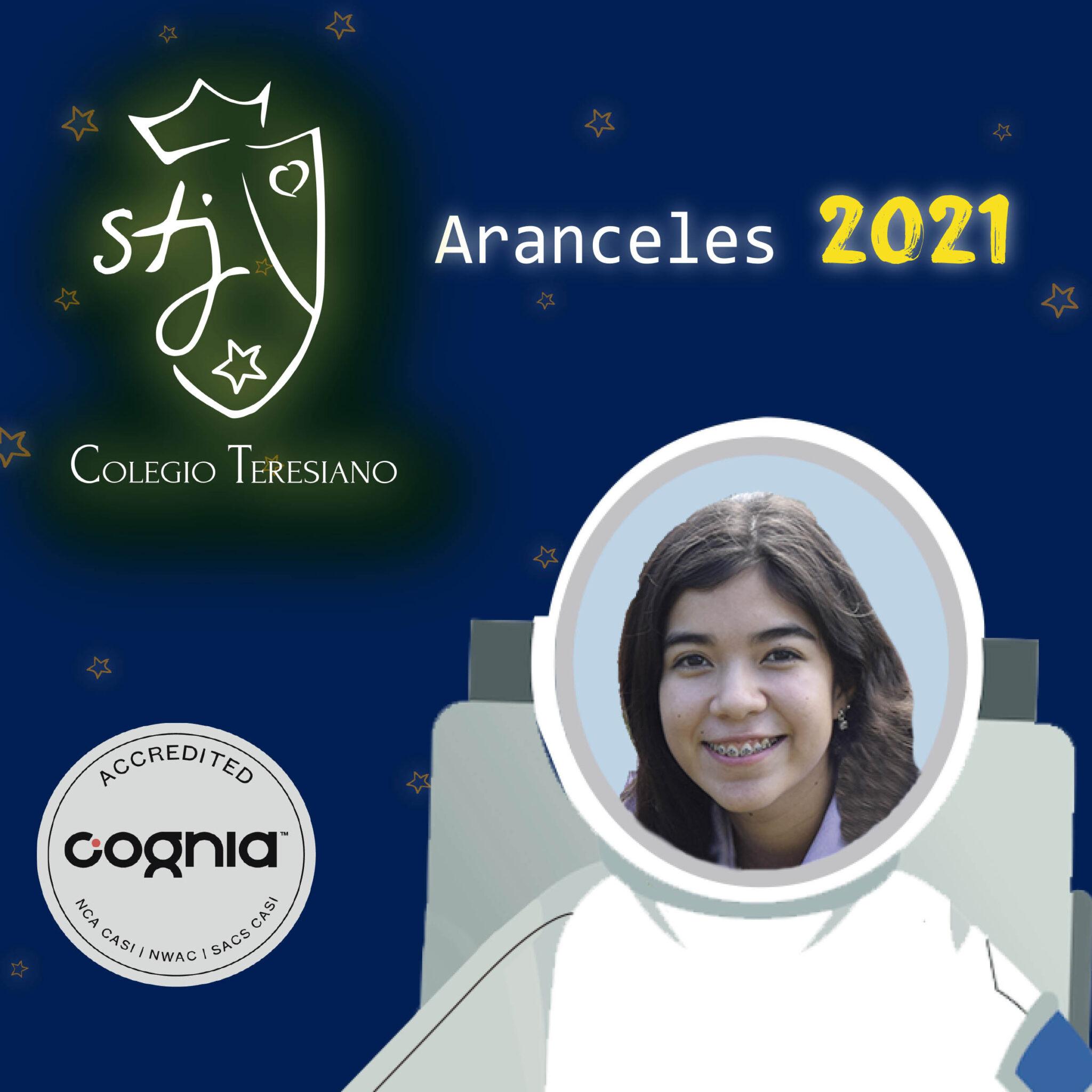 ARANCELES 2021 NUEVO INGRESO Y REINGRESO