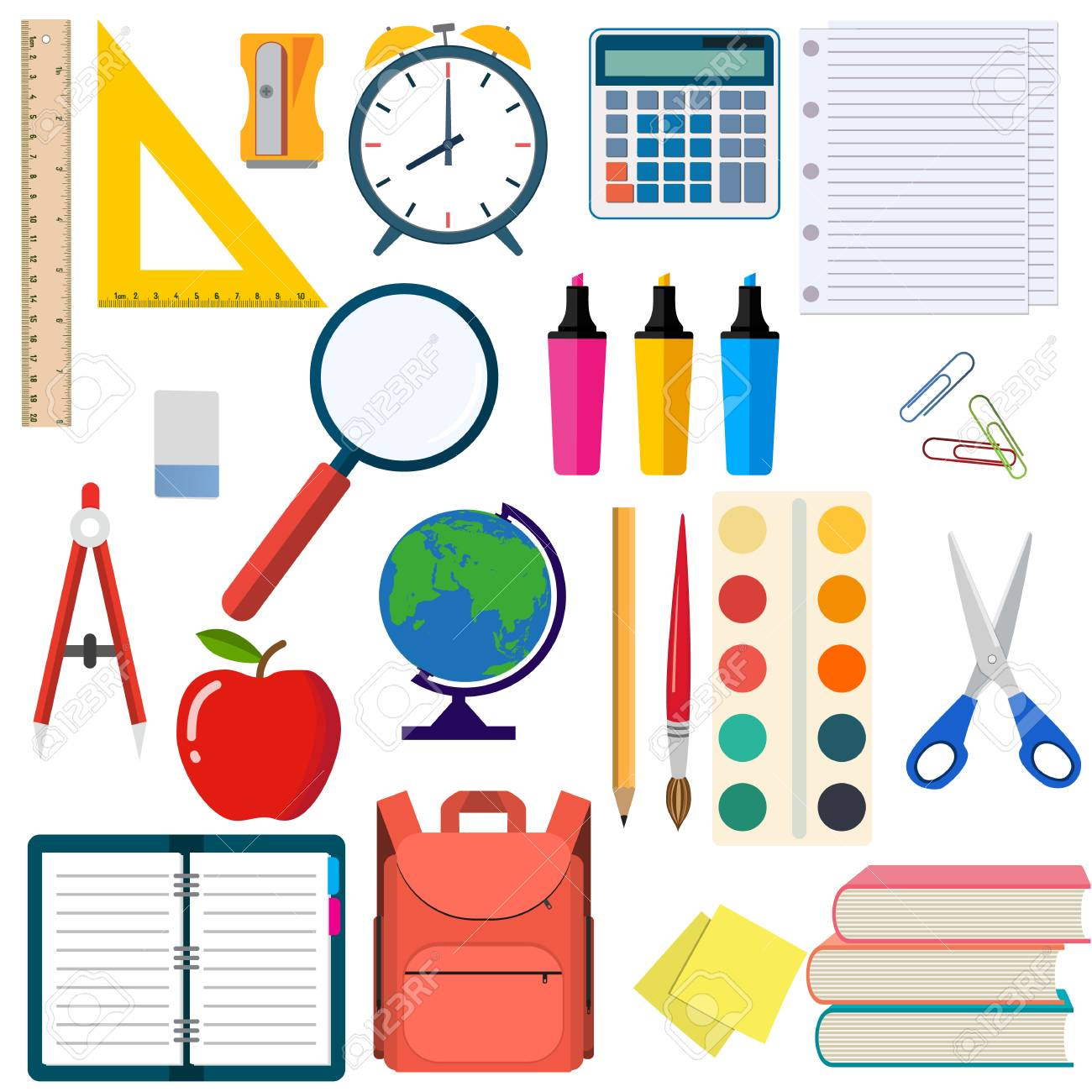 Listas de materiales escolares por grado y programa