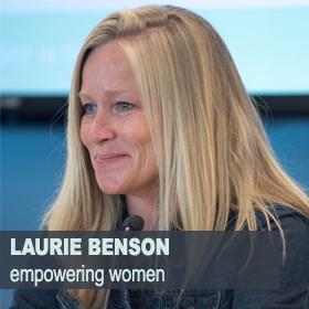 LAURIE BENSON