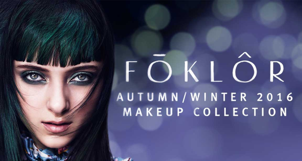 FOKLOR fall makeup collection