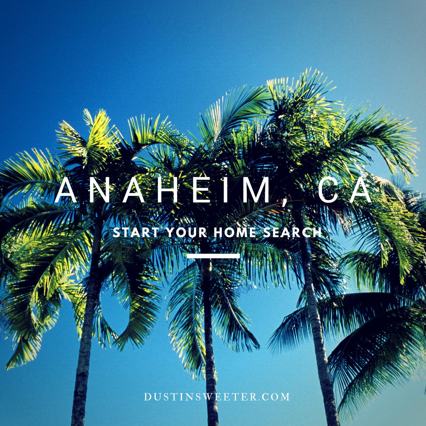 Anaheim Houses For Sale