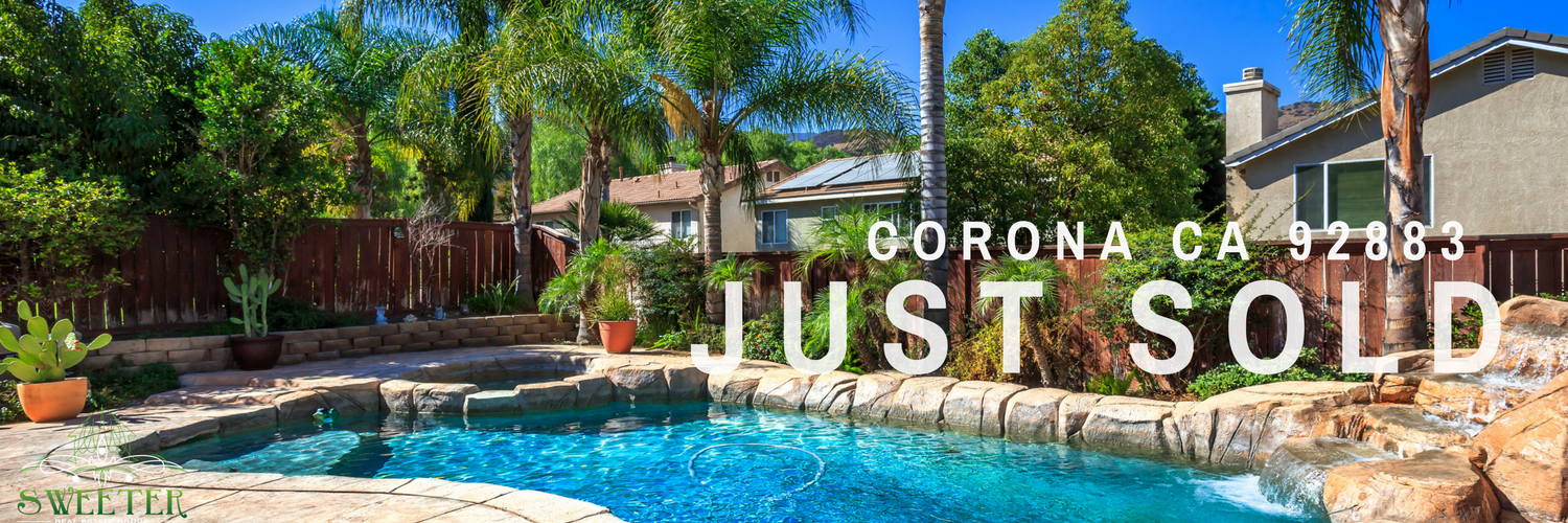 Sold By Sweeter Real Estate Group Corona 92883