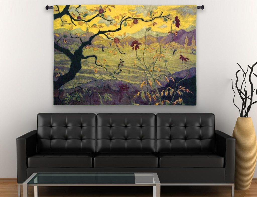 Tapestry Fabric Wall Hanging