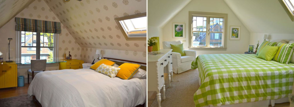 Home Staging Before & After Bedroom