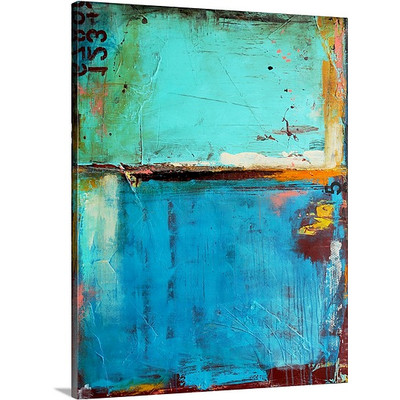Matchbox Blues by Erin Ashley Art Print on Canvas