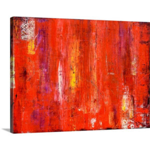 Roadhouse Red by Erin Ashley Art Print on Canvas