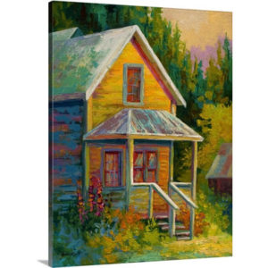 Barkerville by Marion Rose Art Print on Canvas
