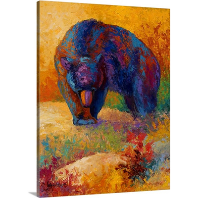 Berry Hunting by Marion Rose Art Print on Canvas