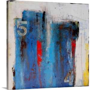 District 54 by Erin Ashley Art Print on Canvas
