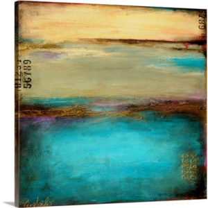 Mystic Bay by Erin Ashley Art Print on Canvas
