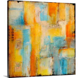 Pathways by Erin Ashley Art Print on Canvas