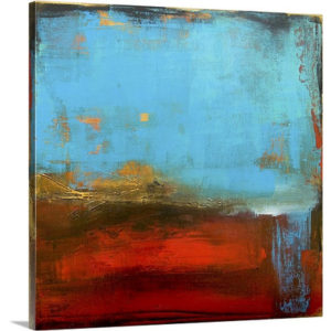 Blue Monday by Erin Ashley Art Print on Canvas