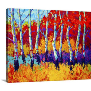 Autumn Riches by Marion Rose Art Print on Canvas