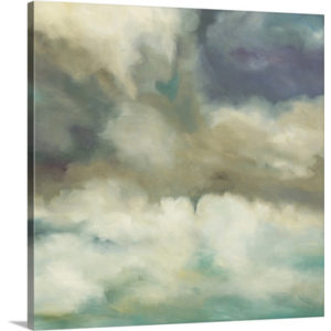 Gathering Storm by Liz Jardine Art Print on Canvas
