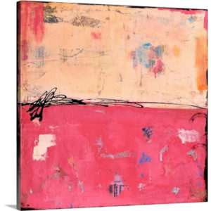 Smash Box by Erin Ashley Art Print on Canvas