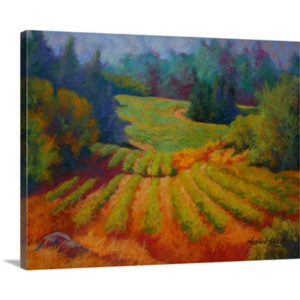Vineyard by Marion Rose Art Print on Canvas
