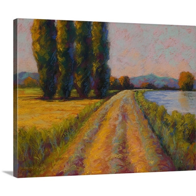 The Levee by Marion Rose Art Print on Canvas