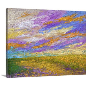 Mini Landscape V by Marion Rose Art Print on Canvas