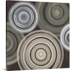 Spin Cycle by Liz Jardine Art Print on Canvas
