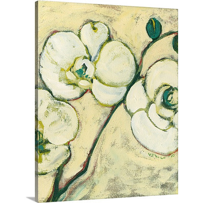 An Orchid for Ben by Jennifer Lommers Art Print on Canvas