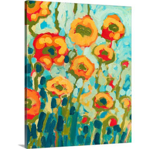 California Poppies by Jennifer Lommers Art Print on Canvas