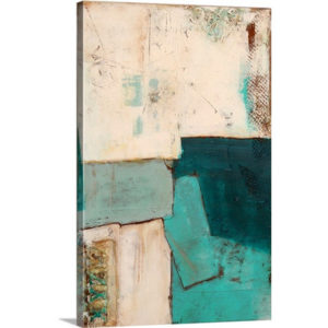 Urban Block by Erin Ashley Art Print on Canvas