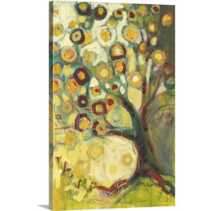 Tree of Life in Autumn by Jennifer Lommers Art Print on Canvas