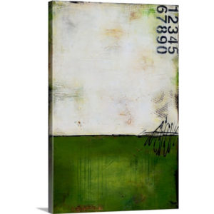 Green Bay by Erin Ashley Art Print on Canvas