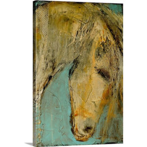 Shes A Beauty by Erin Ashley Art Print on Canvas