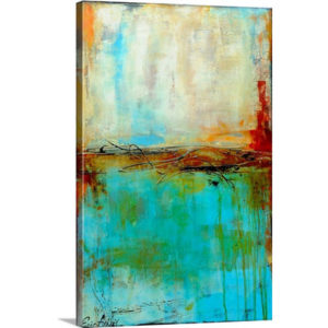 Urban East by Erin Ashley Art Print on Canvas