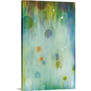 Blown Glass by Liz Jardine Art Print on Canvas