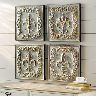 Lark Manor | French Country Metal Wall Decor