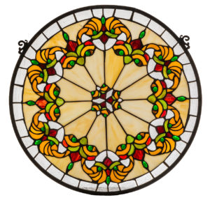 Middleton Medallion | Stained Glass Window