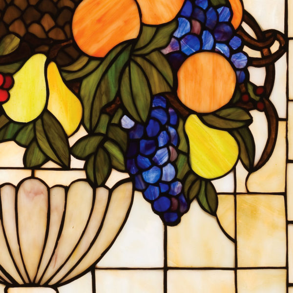 "Fruitbowl | Stained Glass Window Hanging | 25"" W 29"" H"