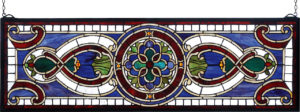 """Evelyn In Lapis Transom 